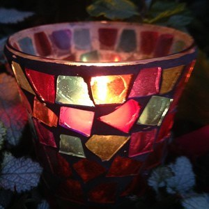 Mosaic Glass Lanterns (3 hours)